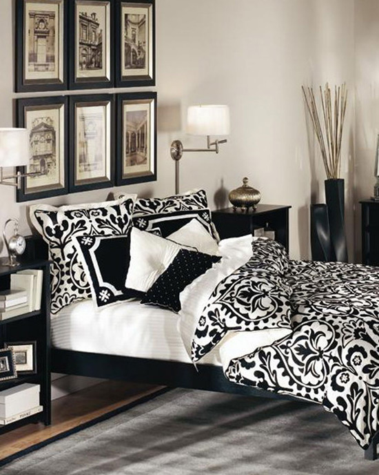 traditional-black-and-white-bedroom-profesional-design