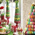 Фото 26: Вкусные цветные елочки