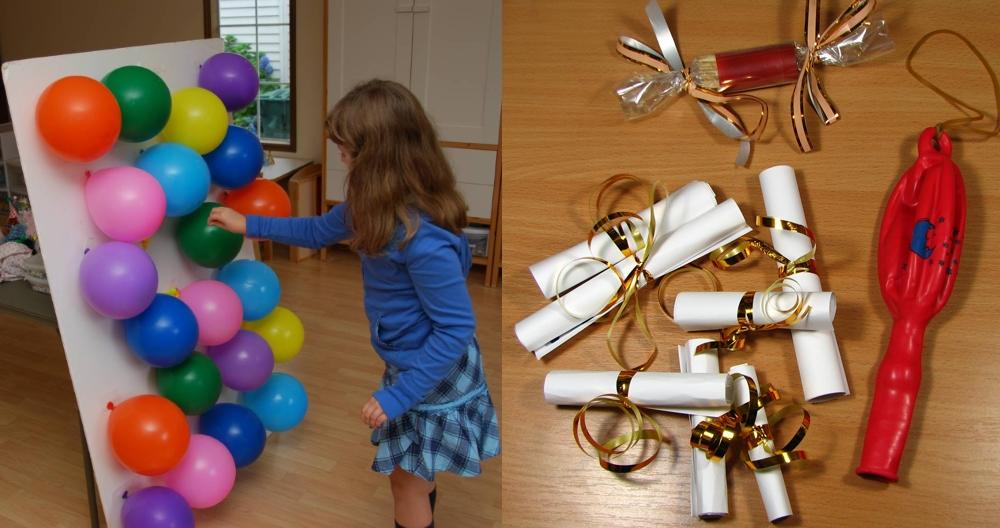Записки в шариках для конкурсов на Новый Год