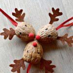 Фото 42: Новогодние игрушки из грецких орехов