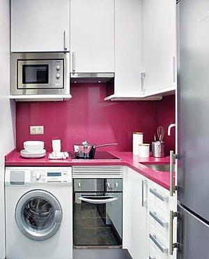 узкая кухня дизайн