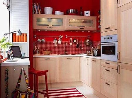 маленькая узкая кухня фото