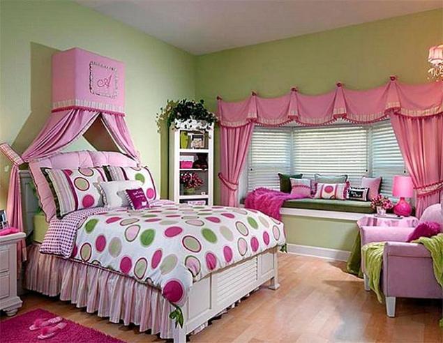 спальня в романтическом стиле