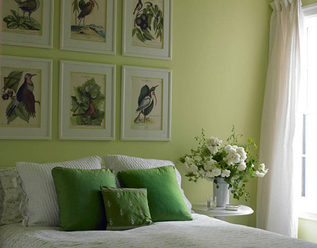 Decor-for-a-Green-Bedroom-ideas