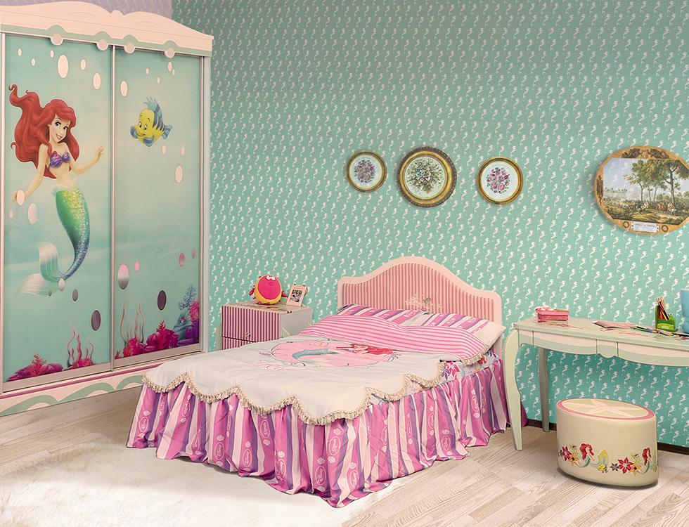Детская комната в стиле Русалочки