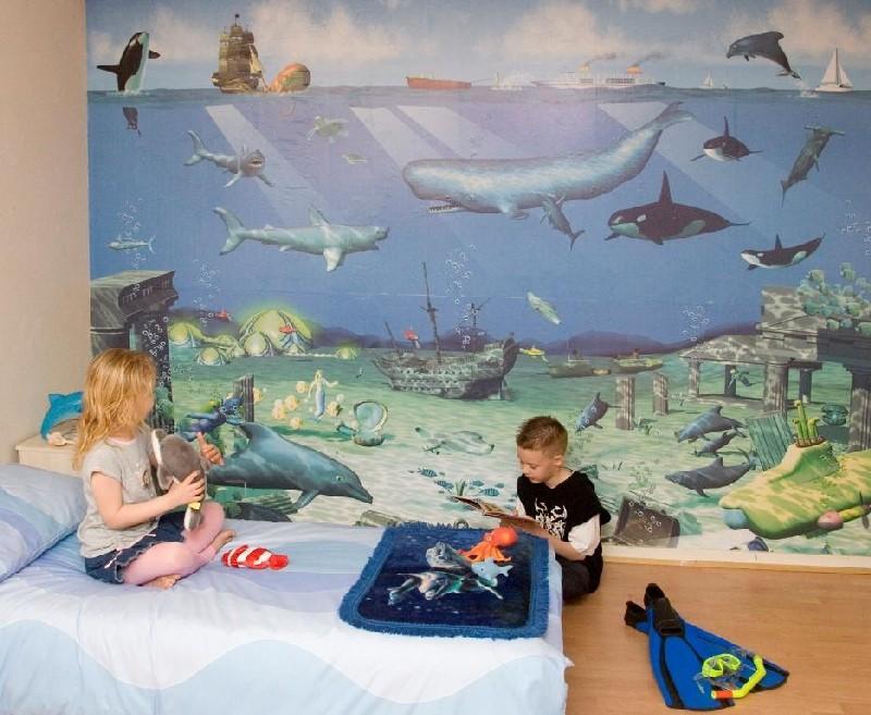 Фотообои в морском стиле в детскую