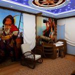 Фото 64: Пиратские корабли фотообои в детскую комнату