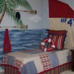 Фото 44: Роспись стен в морском стиле