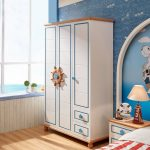 Фото 53: Шкаф в прибрежном стиле в детской