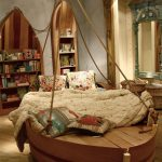 Фото 110: Шкафы и кровать в виде лодок