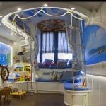 Фото 34: Точечное освещение для комнаты в морском стиле