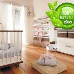 Фото 38: Использование натуральных материалов в комнате для новорождённого