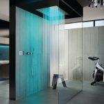 Фото 121: Современная ванная с душевой в стиле хай тек