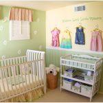 Фото 58: Дизайн стен в комнате для новорождённого