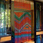 Фото 87: Нитяные шторы с этническим рисунком