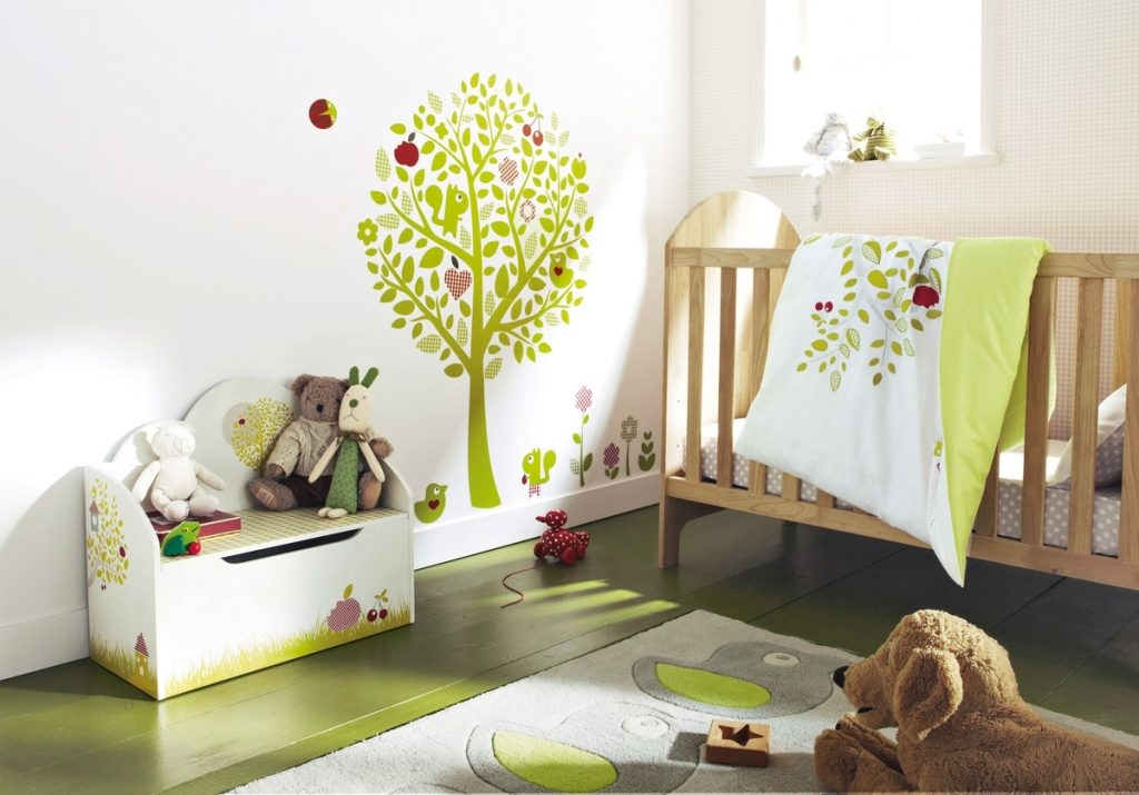 Комната для младенца фото