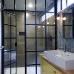 Фото 64: Стеклянная душевая комната