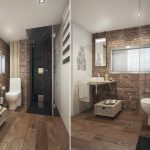 Фото 108: Ванная комната с душевой в стиле лофт
