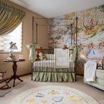 Фото 97: Металлическая кроватка для новорожденного