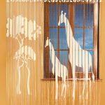 Фото 104: Нитяные шторы с трафаретным рисунком