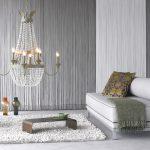 Фото 99: Нитяные шторы в качестве настенного украшения