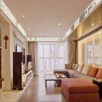 Фото 75: Зеркальные плинтусы по периметру потолка