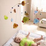 Фото 129: Подвеска над кроваткой в комнате для новорождённого