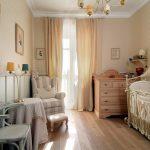 Фото 48: Расстановка мебели в комнате для новорождённого