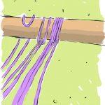 Фото 110: Крепление штор нитей к основанию без иглы