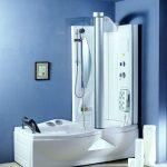 Фото 61: Ванная с гидромассажем и душем