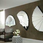Фото 53: Зеркала в виде вееров без рамы
