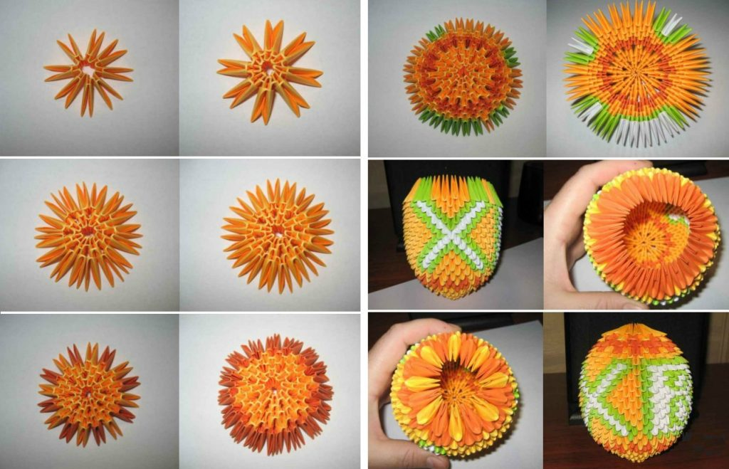 Пасхальное яйцо в технике модульного оригамиПасхальное яйцо в технике модульного оригами