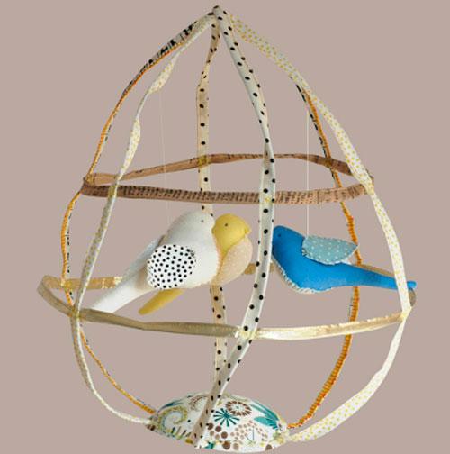 Декоративная клетка для птиц своими руками