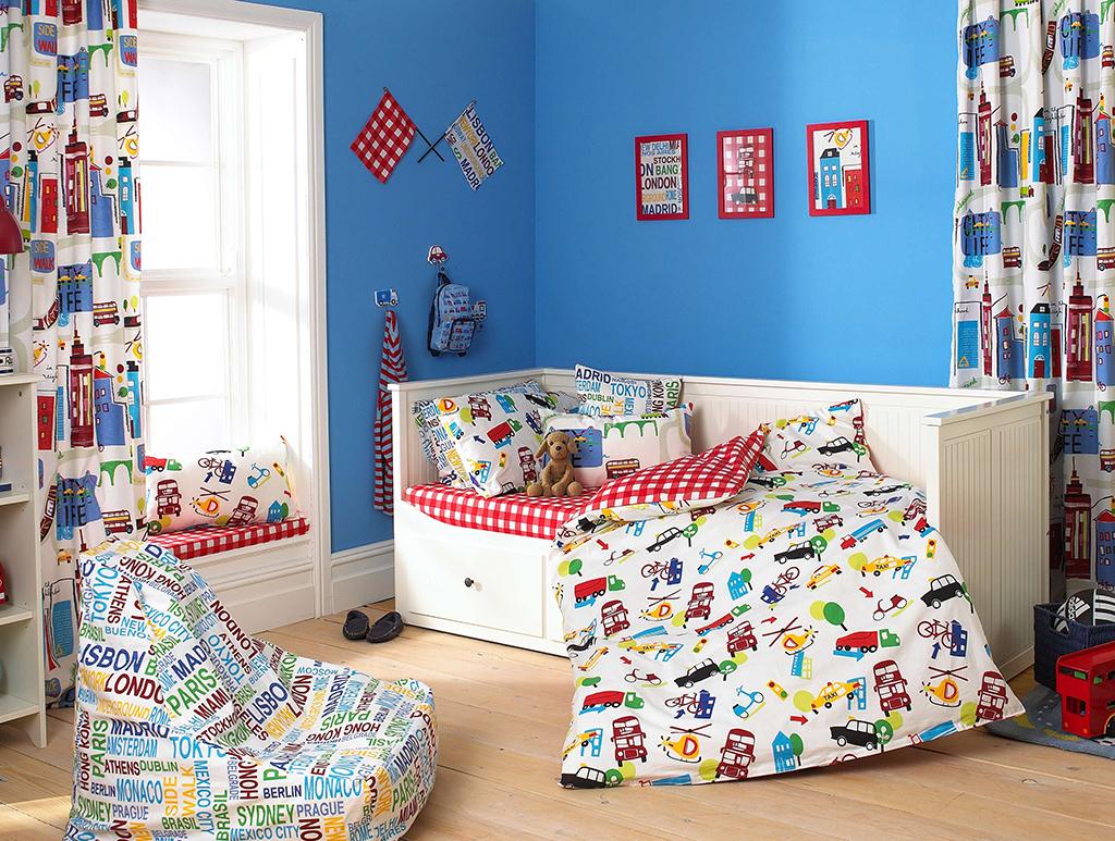 Шторы для детской комнаты мальчика фото