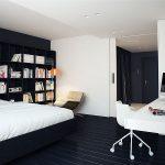 Фото 147: Комната в детской в черно-белых цветах в стиле минимализм