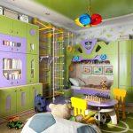 Фото 182: комната для мальчика в современном стиле