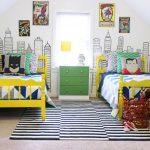 Фото 187: Комната для двух мальчиков с супрегероями