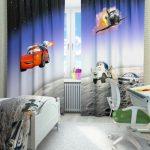 Фото 98: Фотошторы в детскую комнату для мальчика