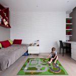 Фото 28: Игровой коврик в детской для мальчиков