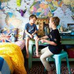 Фото 33: Карта мира в детской