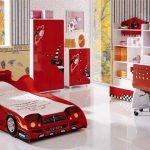Фото 30: Крвоать - машина в детской для мальчика