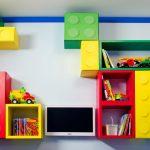 Фото 194: Лего полки в детской