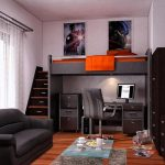 Фото 41: Мебель в комнате мальчика - подростка