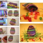 Фото 61: Мешочек из фетра в виде яйца