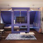 Фото 70: Цветовое оформление зоны спальни