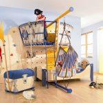 Фото 153: Пиратский модуль в комнате для мальчиков