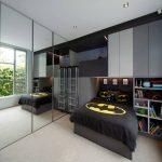 Фото 110: Постельное белье с супергороями в комнате для мальчика