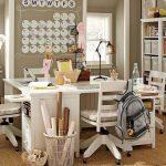 Фото 34: Оформление рабочего места в детской для мальчика