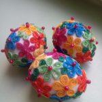 Фото 104: Кружевное яичко квиллинг