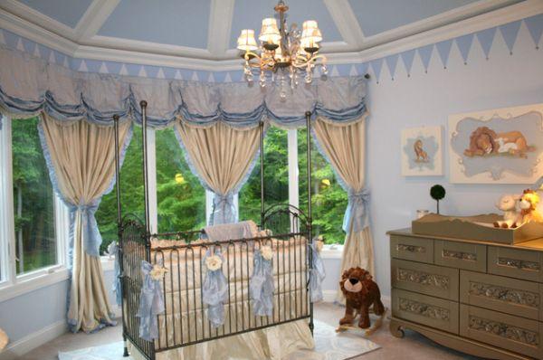 Дизайн штор в детской комнате